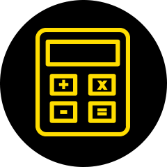 HPartners - calculator icon hover